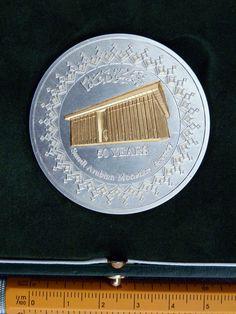 Saudi Arabian Monetary Agency 50 Years (2002)  122 gram Silver Coins, Silver, Rooms, Money