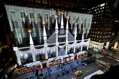 Nyc Holidays, Holidays And Events, Holiday Lights, Holiday Decor, Window Reveal, Christmas Window Display, Holiday Store, Glass Facades, Different Holidays