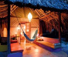 I hear renting a hammock is the way to go when visiting Tayrona National Park in #colombia. Can't wait!