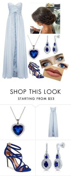 """""""The Jewel of His Life: Lia's Yule Ball Outfit"""" by capeles on Polyvore featuring beauty, Ariella, Ted Baker and BERRICLE"""