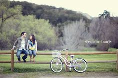I love this whole engagement photo shoot. I wish I had a cute bicycle that we could have brought to Yorktown!