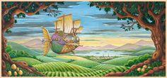 Randal Spangler  Sailing Away