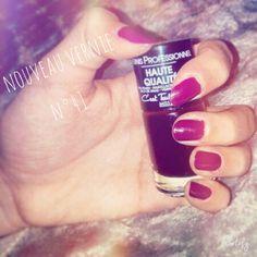 un verni naturel facile a appliquer sur l'ongle  Je vous le conseil Prix 5€
