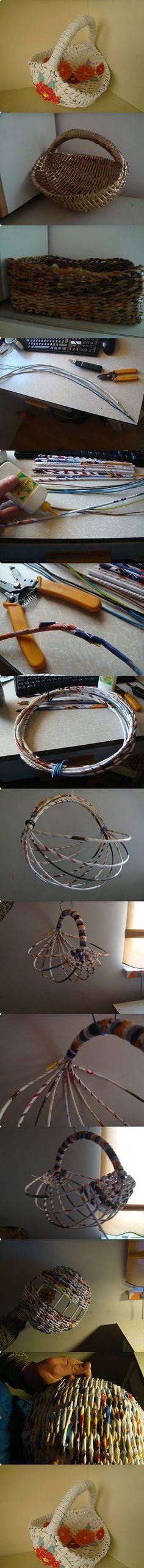 Diy Beautiful Basket | DIY & Crafts Tutorials