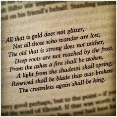 One of my favorite quotes ever. Rock on JRR Tolkien. Rock on. One of my favorite quotes ever. Rock on JRR Tolkien. Rock on. One of my favorite quotes ever. Rock on JRR Tolkien. Rock on. Great Quotes, Me Quotes, Inspirational Quotes, Best Book Quotes, Quotes From Books, Meaningful Quotes, Fabulous Quotes, Friend Quotes, Quotes Literature