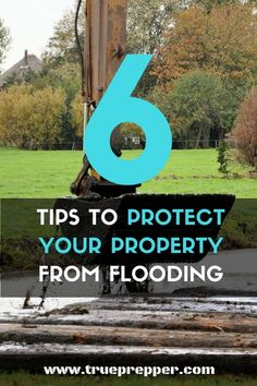 6 Tips to Protect Your Property From Flooding Here are some quick ways to reduce your risk of flood damage. Don't wait until its too late! Off Grid Survival, Survival Tips, Survival Skills, Emergency Preparation, Emergency Preparedness, Flood Plain Map, Do It Yourself Decorating, Diy Decorating, Flood Damage