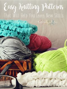 Easy Knitting Patterns That Will Help You Learn New Skills