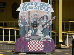 The BigTexan Steakhouse in  Amirillo, Tx.