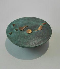 Pisapapel Archipiélago. Diseño y fundición #Bronzo. Bronce.