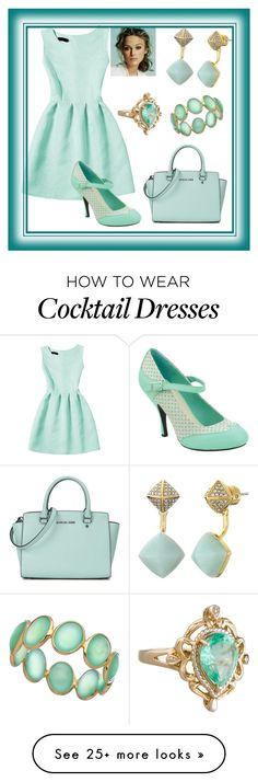 """""""Minty Fresh"""" by mcronald-denise on Polyvore featuring Michael Kors, T.U.K. and Tresor"""