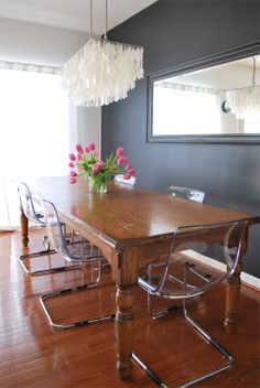 Before & After // The Dining Room & Kitchen { Proper Hunt }