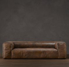 Fulham Leather Sofas.... an entity so sweetly bold in a space....