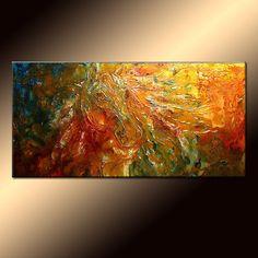 Original Modern Figurative Impressionism by newwaveartgallery, $850.00