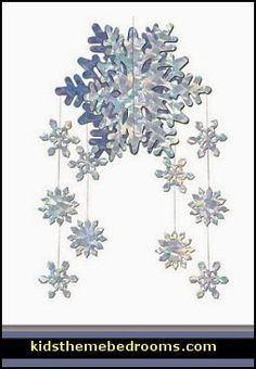 Snowflake Mobile Party Accessory count) This item is a great value! 1 per package Winter/Christmas party item Hanging Decorations for festive occasions High Quality Snowflake Party, Snowflake Cutouts, Snowflake Decorations, Frozen Snowflake, Snowflake Ornaments, Disney Frozen Party, Frozen Birthday Party, 2nd Birthday, Birthday Ideas