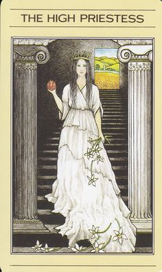Image Detail for - MythicTarot_IMG_0001.jpg Mythic Tarot: The High Priestess