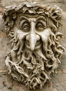 Green Man Garden Ornament Wilbur...love this green man plaque