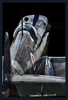 Classic Aircraft.Supermarine Spitfire.Classic Car Art&Design @classic_car_art #ClassicCarArtDesign