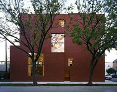 Pfanner House in Chicago image courtesy of ©Zoka Zola Architecture + Urban Design