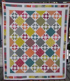 I aspire to have skills like this... one quilt at a time...