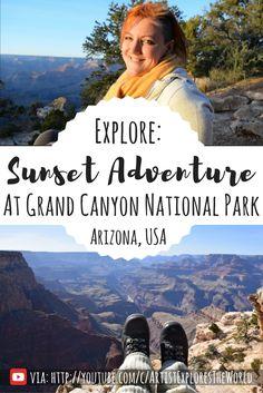 Explore the Grand Canyon National Park in Arizona, USA