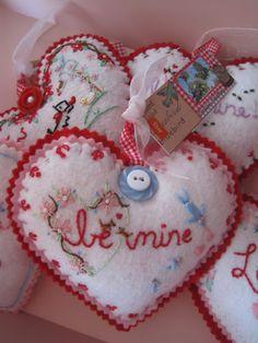 valentine's day flannel board