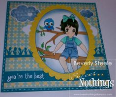 Sweet Nothings Stamp Co.- Tomboy Sophie