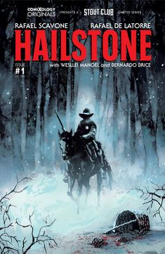 Hailstone drops next week from ComiXology Originals & Stout Club Entertainment. The horror thriller hits with a chilling first issue you don't want to miss.