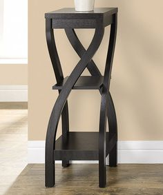 Another great find on #zulily! Cappuccino Twisted Accent Table #zulilyfinds