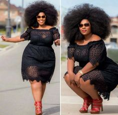 Go big or go home. #slimmingbodyshapers   Soooo Gorgeous!! I would love to see more plus sized models out there! So chic and classy! A mix of good-- girl-next door and classic pin-up girl. slimmingbodyshapers.com