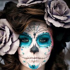 #DayOfTheDead #makeup #SugarSkull