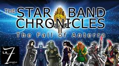 Join four modern day humans selected to fight in a galactic battle across space in the Sci-Fi adventure series, The Fall of Anterra
