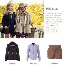 New Arrivals l Woman Collection Autumn.Winter 15 Linhas sofisticadas, atuais, quentes e confortáveis. Descubra a Nova Coleção em www.liononfporches.com