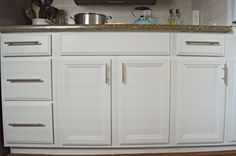 Made With Love by Dana: How to Paint Kitchen Cabinets like a Professional