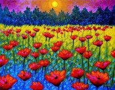 twilight Poppies