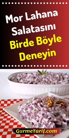 Easy Desserts, Dessert Recipes, Purple Cabbage, Cabbage Salad, Homemade Beauty Products, Food Blogs, Starters, Side Dishes, Food And Drink