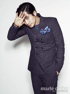 Shin Ha-kyun // Marie Claire Korea // April 2013