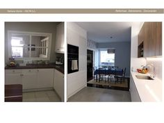 before and after Kitchen Cabinets, Home Decor, Decoration Home, Room Decor, Cabinets, Home Interior Design, Dressers, Home Decoration, Kitchen Cupboards