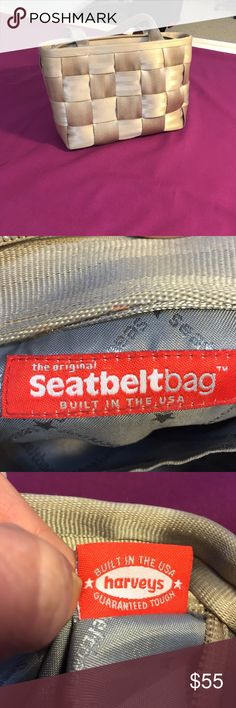 Harvey's Seat belt bag 7 inches tall, 9 inches long Harveys seat belt bag Bags Shoulder Bags