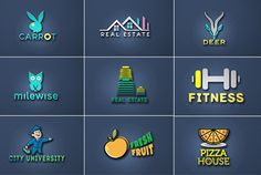 make Unique and Awesome logo Design