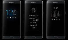 Смартфоны Samsung Galaxy S7/S7 Edge получили обновление с функциями Always On Display присущими модели Note7
