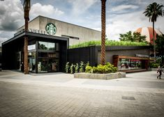 Starbucks store at Disneyland, Orlando Florida cafe