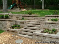 trying to get an idea what our retaining wallbackyard will look like saved a few examples we saw - Design Of Retaining Walls Examples