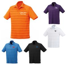 "Custom Imprinted Men's Short Sleeve Polo Shirts: Available Colors: Black, Dark Plum, Blue, Saffron, White. Product Size: S, M, L, XL, 2XL, 3XL. Imprint Area: Centered on Left Chest 3.00"" H x 3.00"" W. Carton Weight: 12.7 lbs. Packaging: 32. Material: Micro Polyester. #custompoloshirt #promotionalproduct #menswear"