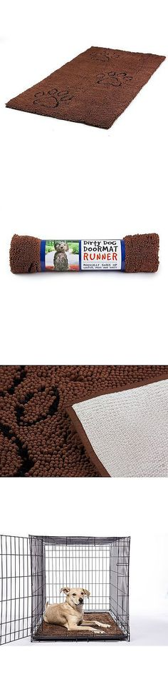 Dog Lover Products 116378: Dog Gone Smart Large Dirty Dog Doormat Brown Runner -> BUY IT NOW ONLY: $77.27 on eBay!