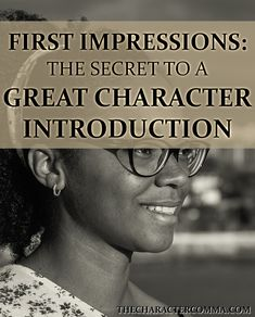 The secret to a GREAT character introduction. Your character's first impression on the reader is a huge deal, and it can do a lot of heavy lifting as far as character development. See how to craft your character's debut on the pages here! #writingtips #characterdevelopment #characterintroductions