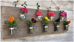 Image result for flower stand from pallets