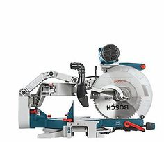 Miter Saws Bosch 12 Inch DB Glide Blade Chop Cutting Wood Tool Equipment Kit NEW