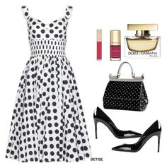 """D&G #2"" by betty-sanga ❤ liked on Polyvore"