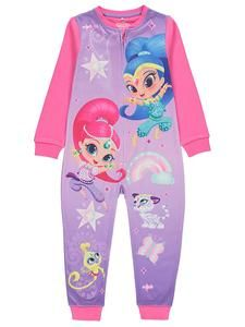 Shimmer and Shine Short Pyjamas 18 Months To 5 Years