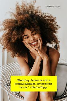 Når du tenker positivt, tiltrekker du positivt tilbake.  #strålendetanker #sitater #livet #positiviholdining #positivitet Affirmations Positives, Money Affirmations, Social Media Detox, Power Of Now, Bad Mood, Muhammad Ali, Confident Woman, How To Manifest, Single Women